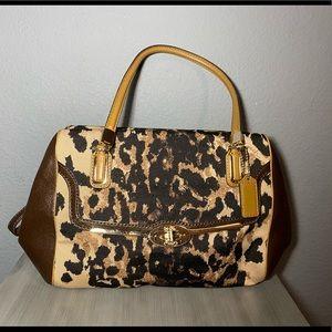 Leopard Coach Bag